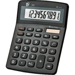 5Star - 310 Escritorio Calculadora básica Negro, Blanco calculadora