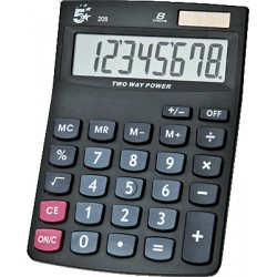 5Star - 208 Escritorio Calculadora básica Negro calculadora