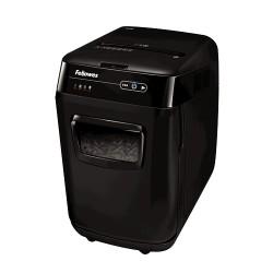 Fellowes - AutoMax 200C triturador de papel Corte cruzado 23 cm Negro