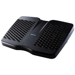 Fellowes - 8066001 Carbón vegetal soporte para el apoyo de pies