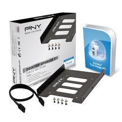 PNY - Desktop Upgrade Kit Universal Funda de disco duro