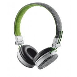 Trust - URB FYBER GREY/GREEN auricular