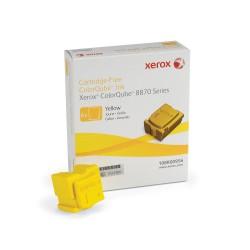 Xerox - Tinta para ColorQube 8870, amarillo (6 barras 17300 páginas) barra de tinta