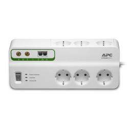 APC - PMH63VT-GR limitador de tensión 6 salidas AC 230 V 22,74 m Blanco