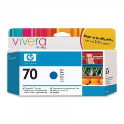 HP - Cartucho de tinta DesignJet 70 azul de 130 ml