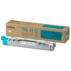 Brother - TN-11C Tóner de láser 6000páginas Cian tóner y cartucho láser