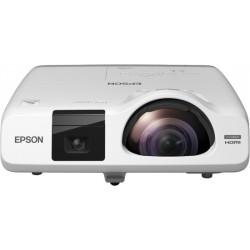 Epson - EB-536Wi videoproyector 3400 lúmenes ANSI 3LCD WXGA (1280x800) Proyector para escritorio Blanco