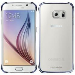 Samsung - Clear Cover Funda Azul, Transparente