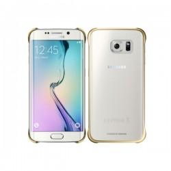 Samsung - Clear Cover Funda Oro, Transparente