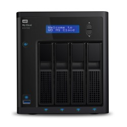 Western Digital - My Cloud EX4100 Ethernet Escritorio Negro NAS - 16271867