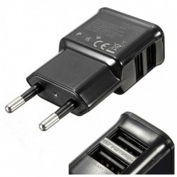 L-Link - LL-USB2-CHARGER cargador de dispositivo móvil Interior Negro