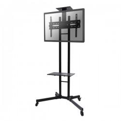 "Newstar - PLASMA-M1700E 55"" Portable flat panel floor stand Negro soporte de pie para pantalla plana"