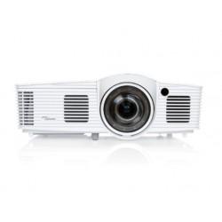Optoma - EH200ST Proyector para escritorio 3000lúmenes ANSI DLP 1080p (1920x1080) 3D Blanco videoproyector