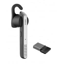 Jabra - Stealth UC auriculares para móvil Monoaural Dentro de oído Negro, Gris, Plata Inalámbrico