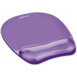 Fellowes - Gel Crystals Púrpura