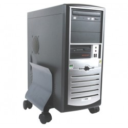 Fellowes - 9169201 Cart CPU holder Grafito soporte de CPU
