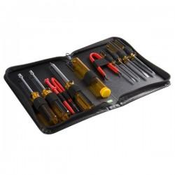 StarTech.com - Juego Kit Set Herramientas Reparación Ordenadores 11 piezas Estuche- Torx Phillips Plano