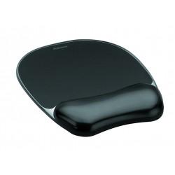Fellowes - 9112101 alfombrilla para ratón Negro