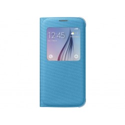 Samsung - S View Cover Canvas Cover case Azul