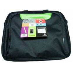 """Approx - APPNBCP15BGP maletines para portátil 39,6 cm (15.6"""") Maletín Negro, Verde"""
