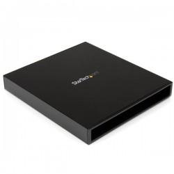 StarTech.com - Caja USB 3.0 para Unidad Óptica CD DVD Slim Line 5,25 Pulgadas SATA Externa - Carcasa