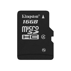 Kingston Technology - 16Gb microSDHC 16GB MicroSDHC memoria flash