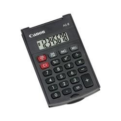 Canon - AS-8 Bolsillo Pantalla de calculadora Gris calculadora