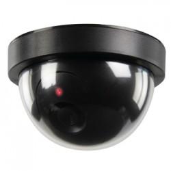 König - SAS-DUMMYCAM50 Negro Almohadilla cámara de seguridad ficticia
