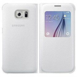 Samsung - S View Cover Cover case Color blanco - 8701647