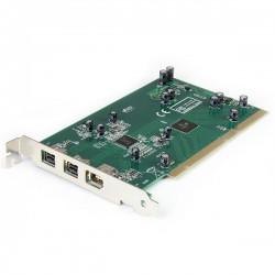 StarTech.com - Adaptador Tarjeta Controladora FireWire 800/400 PCI 2 Puertos 1394b 1x 1394a - Kit Edición DV