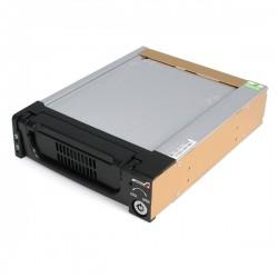 """StarTech.com - Rack Móvil Aluminio Reforzado Disco Duro HDD SATA 3,5"""" Pulgadas con Bandeja Bahía 5,25"""""""