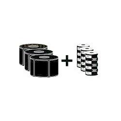 Zebra - ZipShipKit2 Blanco Etiqueta para impresora autoadhesiva
