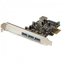 StarTech.com - Tarjeta PCI Express con 4 Puertos USB 3.0