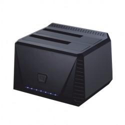 TooQ - DOCK STATION SATA 2.5/3.5 A USB 3.0 CLONE OTB NEGRO - 18388946