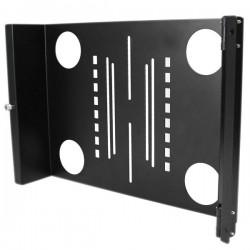StarTech.com - Bracket Soporte Montura Universal Giratorio para Monitor VESA LCD en Rack Armario de 19in Pulgadas