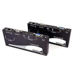StarTech.com - Extensor de Consola KVM por Cat 5 Ethernet (300m) con USB - Vídeo VGA