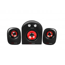 Mars Gaming - MS2 2.1channels 20W Negro conjunto de altavoces