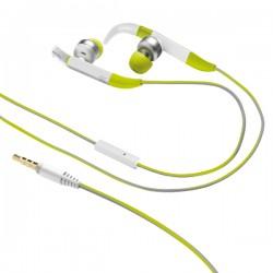 Trust - 20320 Dentro de oído Binaural Alámbrico Verde auriculares para móvil