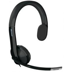 Microsoft - LifeChat LX-4000 for Business Monoaural Diadema Negro auricular con micrófono