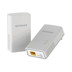 Netgear - PL1200-100PES 1200Mbit/s Ethernet Blanco 2pieza(s) adaptador de red powerline
