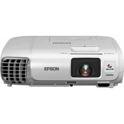 Epson - EB-S27 Proyector para escritorio 2700lúmenes ANSI 3LCD SVGA (858x600) Blanco videoproyector