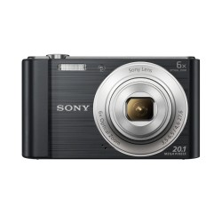 "Sony - Cyber-shot DSC-W810 Cámara compacta 20,1 MP CCD 5152 x 3864 Pixeles 1/2.3"" Negro"