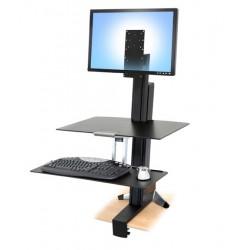 Ergotron - 97-845 mueble y soporte para dispositivo multimedia Carro para administración de tabletas Negro