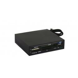 Tacens - Anima ACR2 lector de tarjeta Interno USB 3.0 Negro