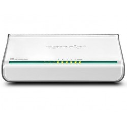 Tenda - 5-Port Fast Ethernet Switch Conmutador de red no administrado Blanco