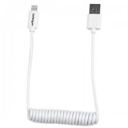 StarTech.com - Cable de 60cm USB a Lightning Rizado para Apple iPhone / iPod / iPad