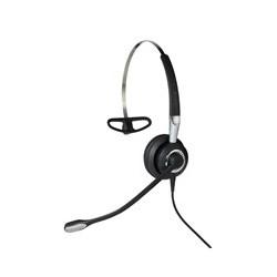 Jabra - Biz 2400 II QD Mono NC 3-in-1 Wideband Auriculares gancho de oreja, Diadema, Banda para cuello Negro, Plata