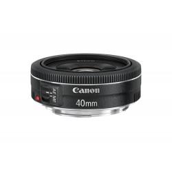 Canon - EF 40mm f/2.8 STM SLR Objetivo estándar Negro