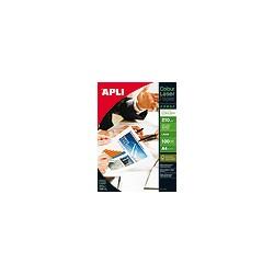 APLI - 11833 papel para impresora de inyección de tinta Brillo Blanco