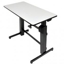 Ergotron - WorkFit-D Negro, Gris escritorio para ordenador